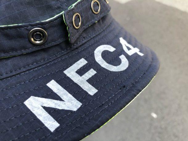 narifuri×CA4LA リバーシブルミリタリーハット【NFC4-16】反射ロゴ