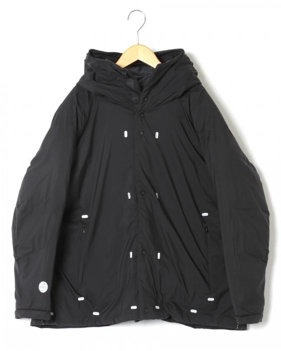 軽量撥水ダウンジャケット【dome jacket/EPIC x Drysphere down】ブラック