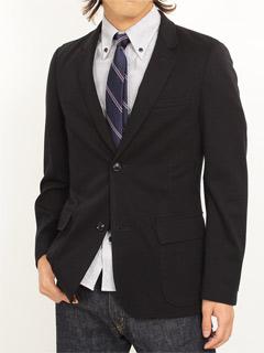 Silk Stripe Necktie: Navy
