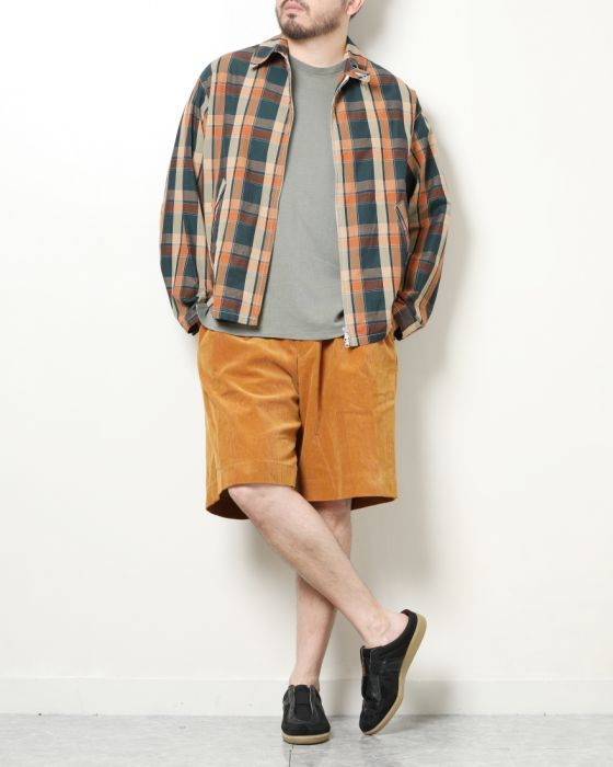 Kaptain Sunshine Multicolored Check Drizzler Jacket KS8SJK08: Brown