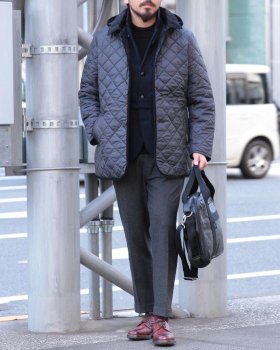 キルティングフードジャケット【DENSTON 2S】