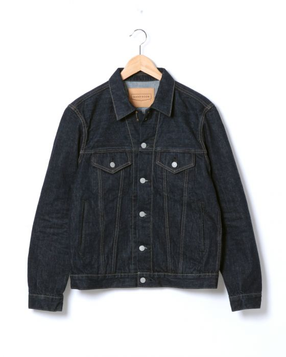 Hand Room 3rd Type G-Jacket 8071-2502: Indigo