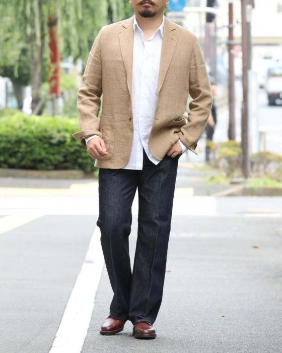 AURALEE(オーラリー) リネン×シルクサマーツイードジャケット【LINEN SILK SUMMER TWEED JACKET】