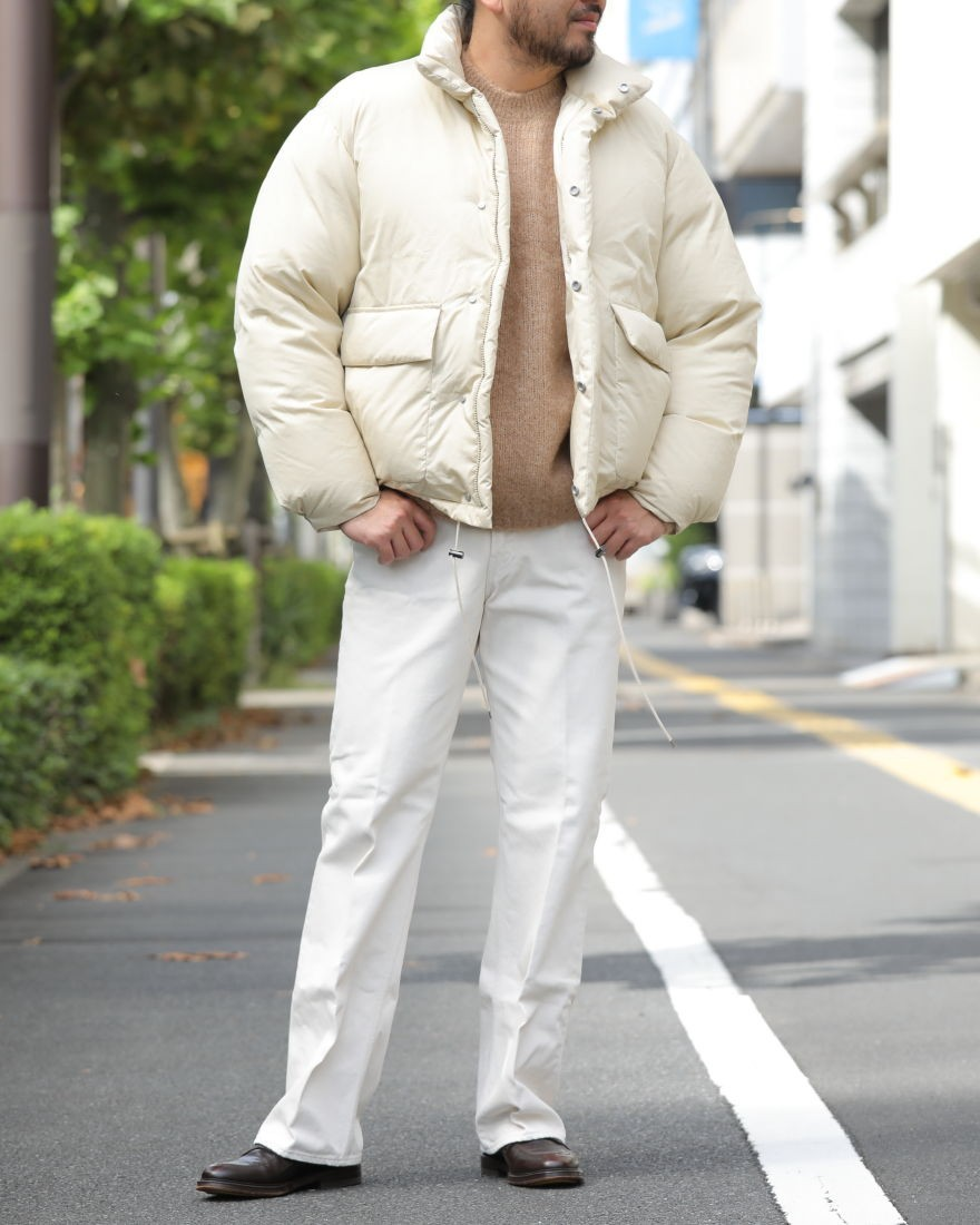 AURALEEダウンジャケット【SUVIN HIGH COUNT CLOTH DOWN JACKET】ma