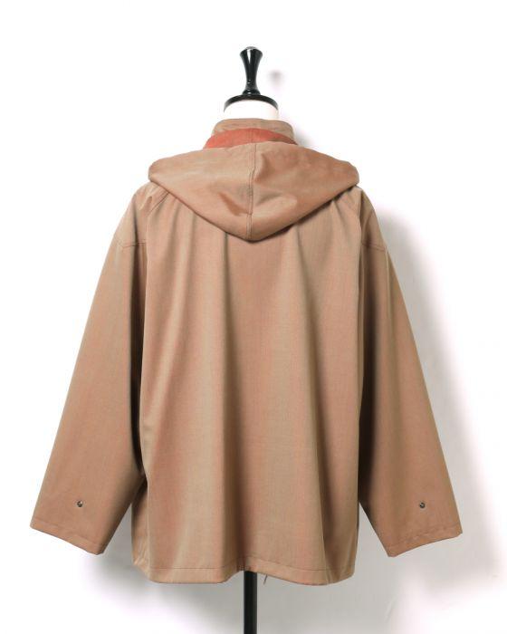 Auralee Light Wool Mohair Blouson A8AB02LW: Herringbone