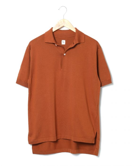 Kaptain Sunshine Knit Polo Collar Shirt KS8SKN04