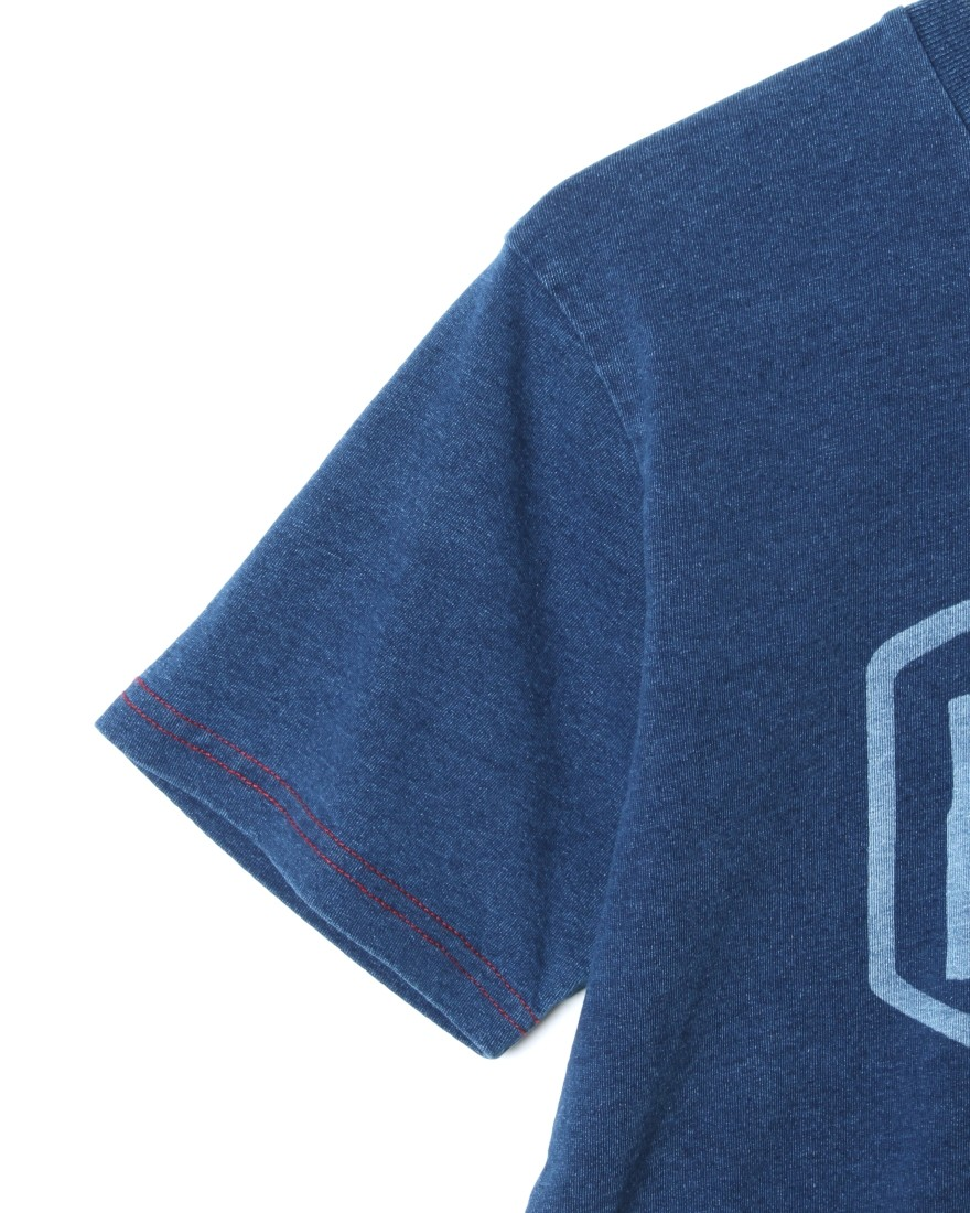 Deus ex MachinaシェールドTee【SHIELD INDIGO Tee】03l