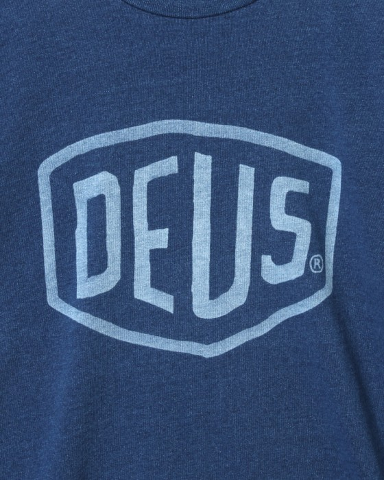 Deus ex MachinaシェールドTee【SHIELD INDIGO Tee】05l