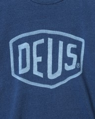 Deus ex MachinaシェールドTee【SHIELD INDIGO Tee】mb_05l