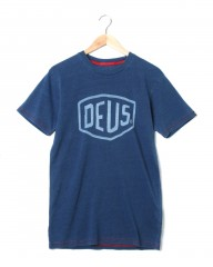 Deus ex MachinaシェールドTee【SHIELD INDIGO Tee】mb_c0