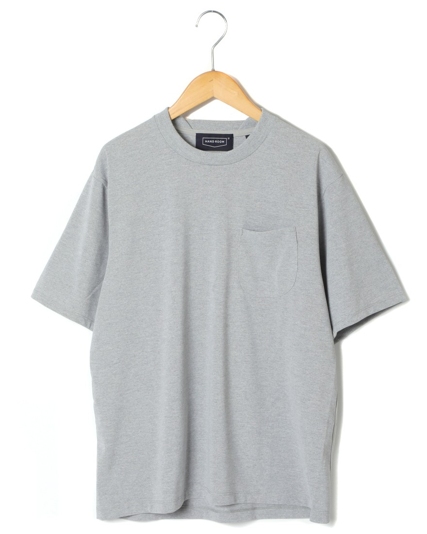 HAND ROOMコットンライクドライTeeシャツ【C/N Short Sleeve T-Shirt】c4