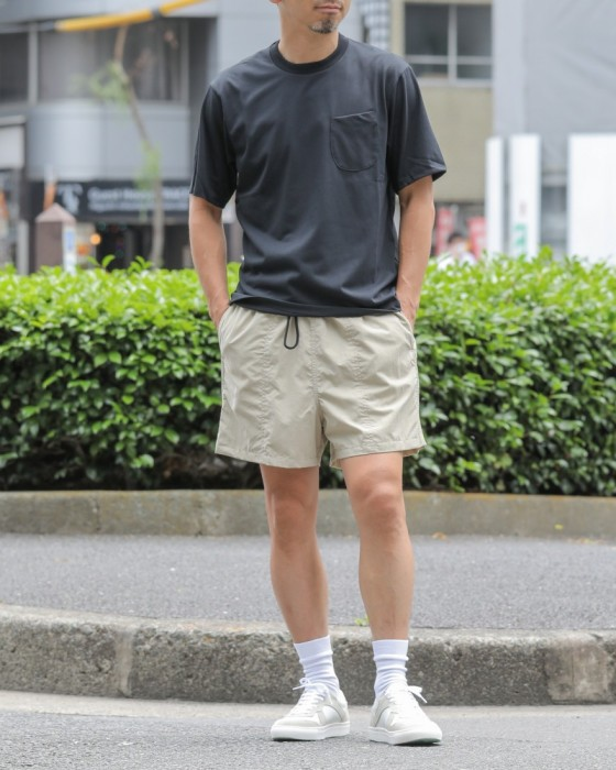 HAND ROOMコットンライクドライTeeシャツ【C/N Short Sleeve T-Shirt】ma