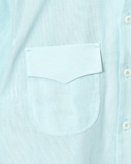 HAND ROOMドビー織オープンカラーシャツ【Cotton Dobby Cloth Open Collar Shirt】mb_05l