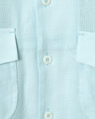 HAND ROOMドビー織オープンカラーシャツ【Cotton Dobby Cloth Open Collar Shirt】mb_06l