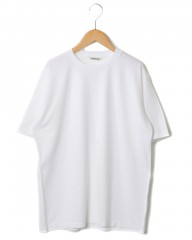 AURALEEラスタープレーティング・クルーネックTee【LUSTER PLAITING S/S TEE】mb_c0
