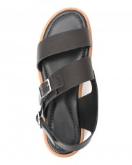 AURALEEダブルストラップレザーサンダル【LEATHER BELT SANDALS MADE BY FOOT THE COACHER】mb_04l