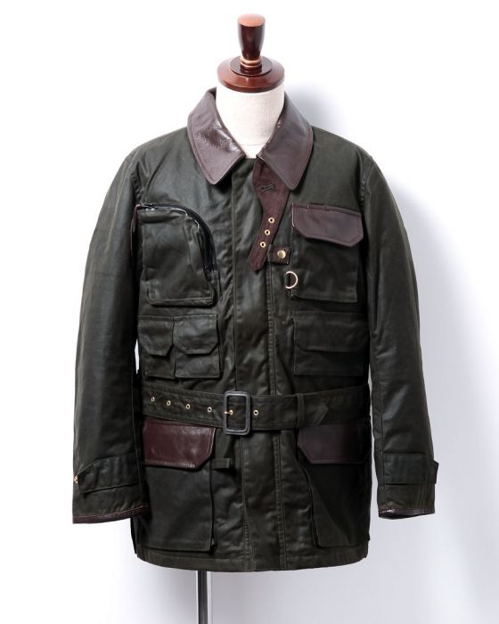 Bibury Court Oiled Cotton Field Jacket 05-BA-54