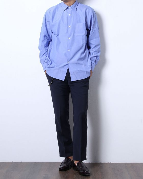 COMOLI(コモリ) レギュラーカラーシャツ【COMOLI SH】
