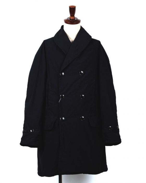 Comoli Mackinaw Coat 15S-04004: Navy