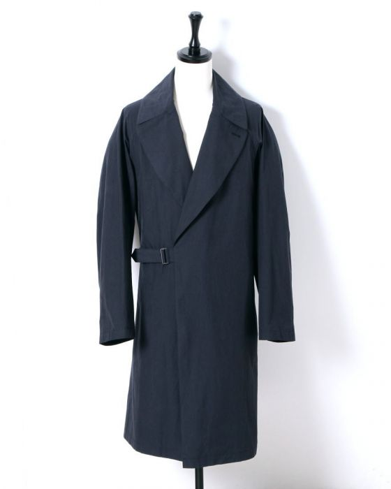 Comoli Tielocken Coat I01-04003: Navy