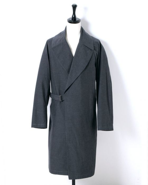 Comoli Tielocken Coat I01-04003: Grey