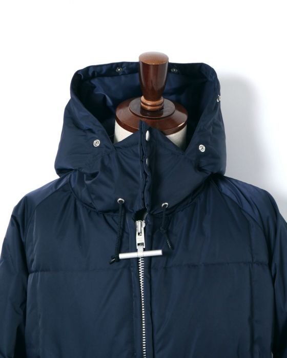 Mighty-Mac Norsac Down Coat 550-502-02: Navy