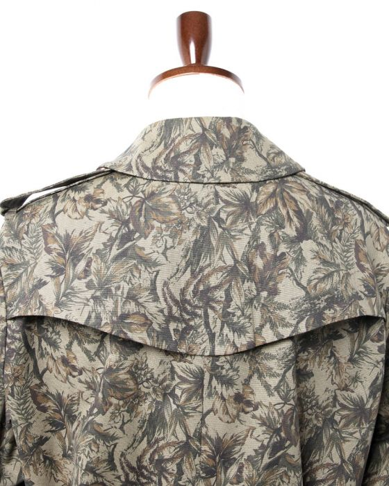m's braque Single Trench Coat 142811: Camouflage