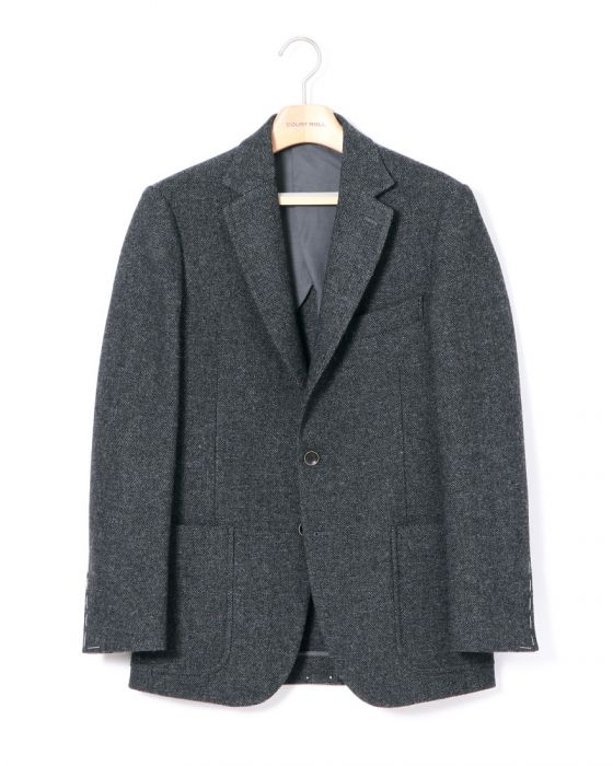 Court Roll Tweed Blazer CR15-AFJK01