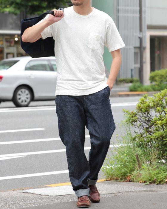 SBTRACT(サブトラクト) リネンスウェットTee【LINEN PK TEE SHIRTS】