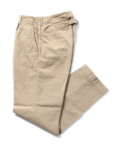 ワンプリーツパンツ【One Pleat Backstrap Pants】