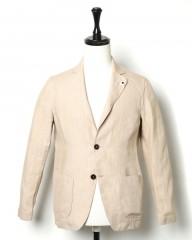 LARDINI(ラルディーニ)リネン シングルシャツジャケット