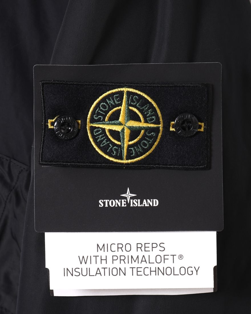 STONE ISLANDマイクロレップス  プリマロフト フーデッドブルゾン【MICRO REPS WITH PRIMALOFT® INSULATION TECHNOLOGY】06l