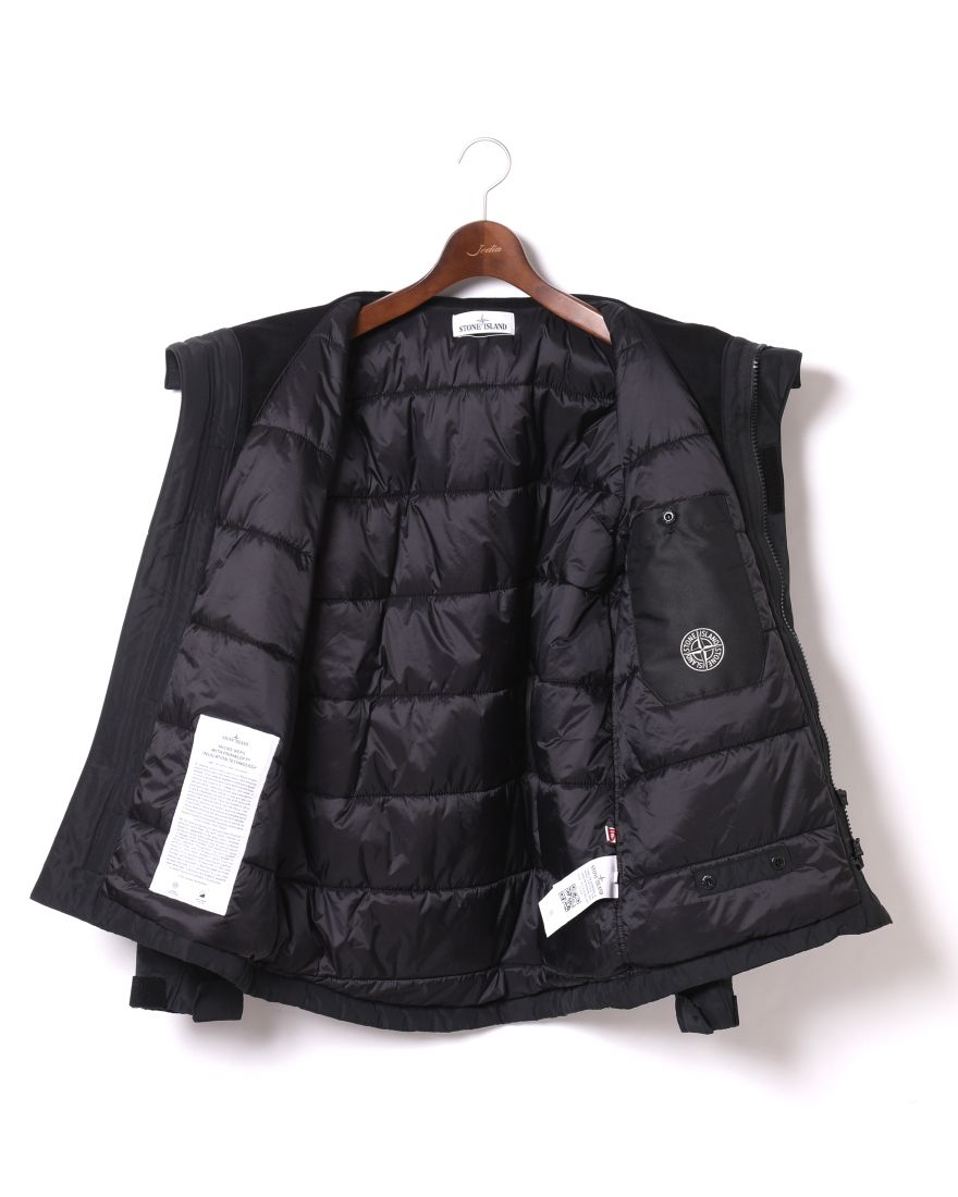 STONE ISLANDマイクロレップス  プリマロフト フーデッドブルゾン【MICRO REPS WITH PRIMALOFT® INSULATION TECHNOLOGY】11l
