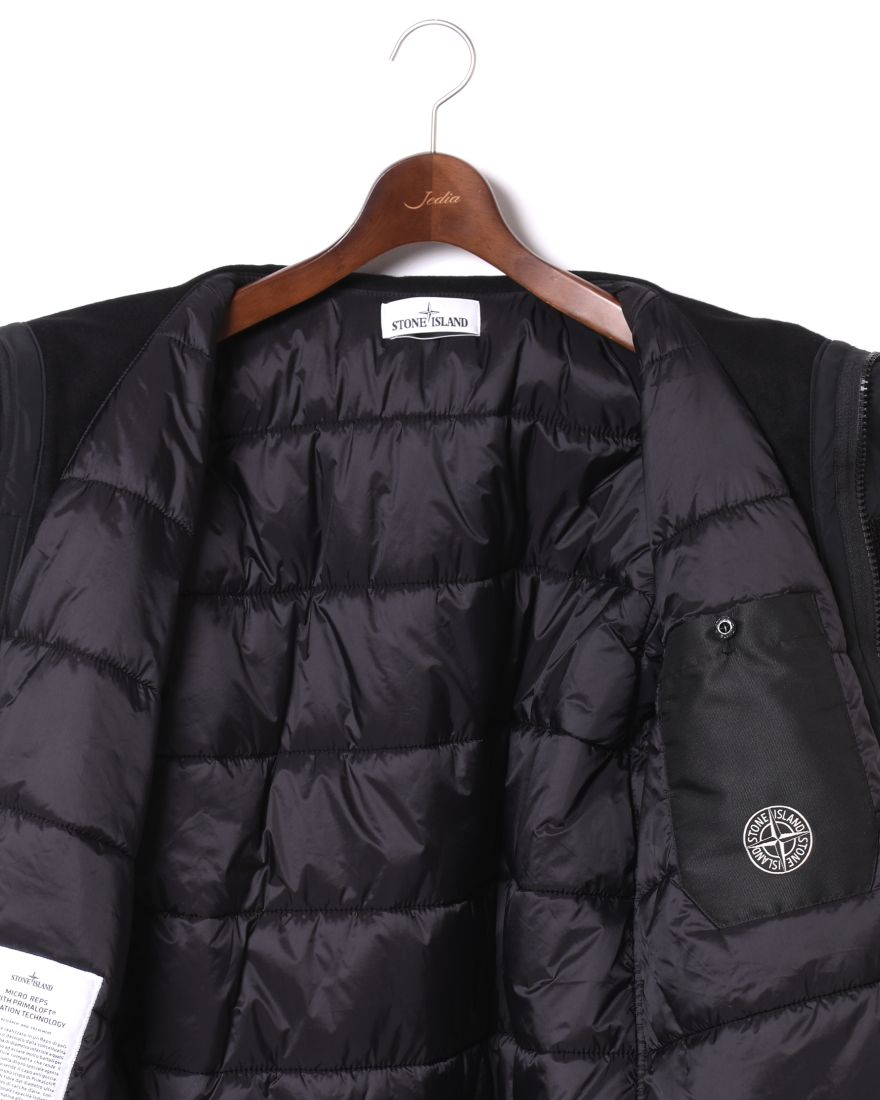 STONE ISLANDマイクロレップス  プリマロフト フーデッドブルゾン【MICRO REPS WITH PRIMALOFT® INSULATION TECHNOLOGY】12l