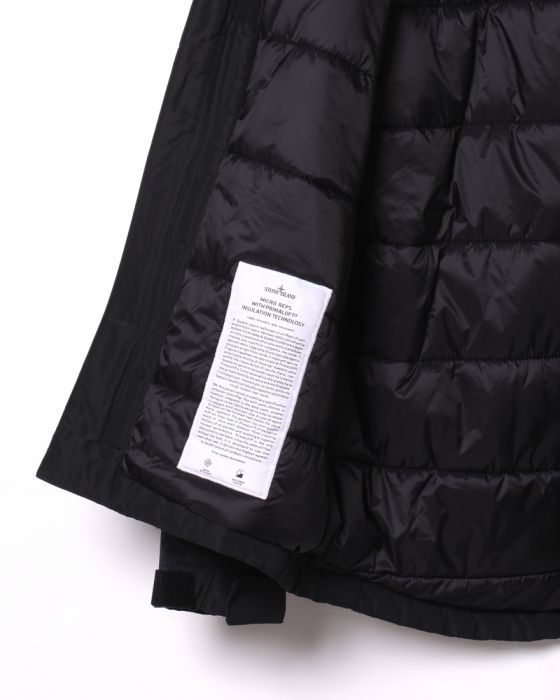 STONE ISLANDマイクロレップス  プリマロフト フーデッドブルゾン【MICRO REPS WITH PRIMALOFT® INSULATION TECHNOLOGY】13l