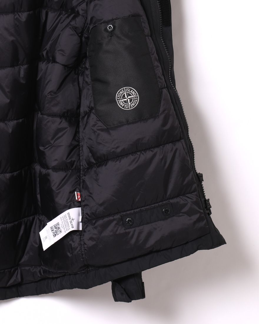 STONE ISLANDマイクロレップス  プリマロフト フーデッドブルゾン【MICRO REPS WITH PRIMALOFT® INSULATION TECHNOLOGY】14l