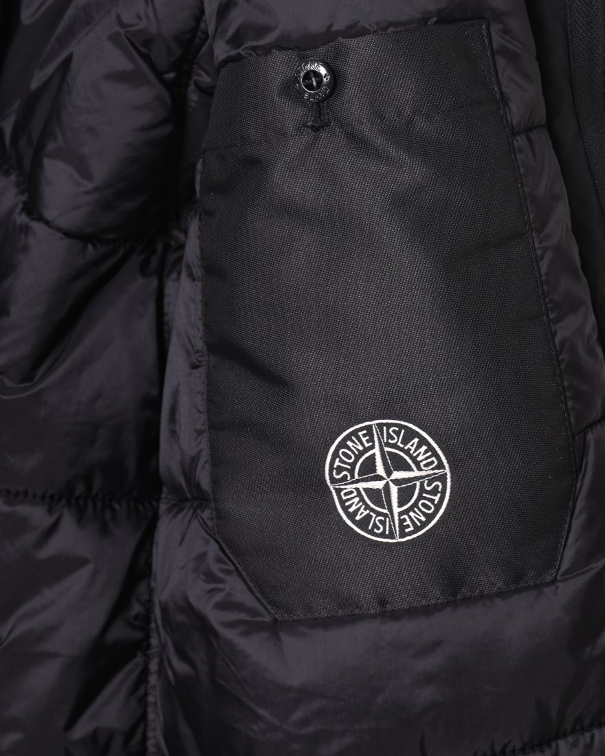 STONE ISLANDマイクロレップス  プリマロフト フーデッドブルゾン【MICRO REPS WITH PRIMALOFT® INSULATION TECHNOLOGY】15l