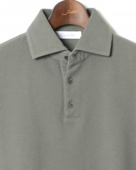 Cruciani(クルチアーニ)コットン鹿の子ポロシャツ