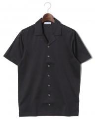 GRAN SASSO(グランサッソ)マーセライズドコットン 開襟半袖シャツ