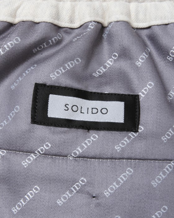 SOLIDOサイロ杢ポンチ D-Trousers【Siro Top Stetch】13l