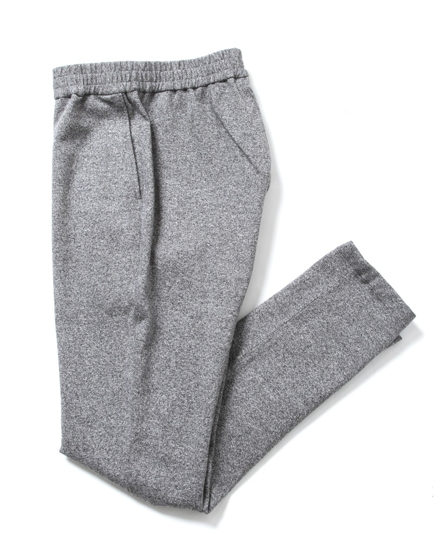 SOLIDOサイロ杢ポンチ D-Trousers【Siro Top Stetch】c1