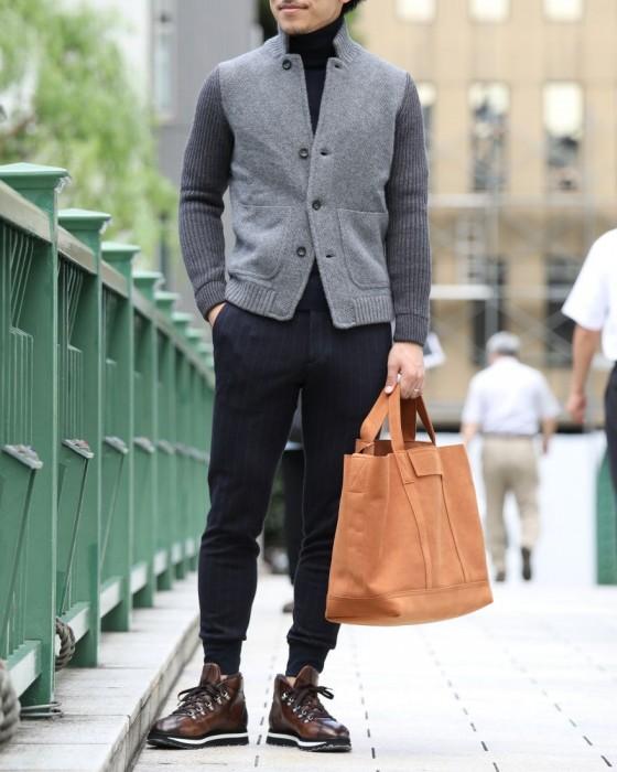 人気メンズファッション|DOUCAL'S(デュカルス) ボア付きマウンテンブーツ