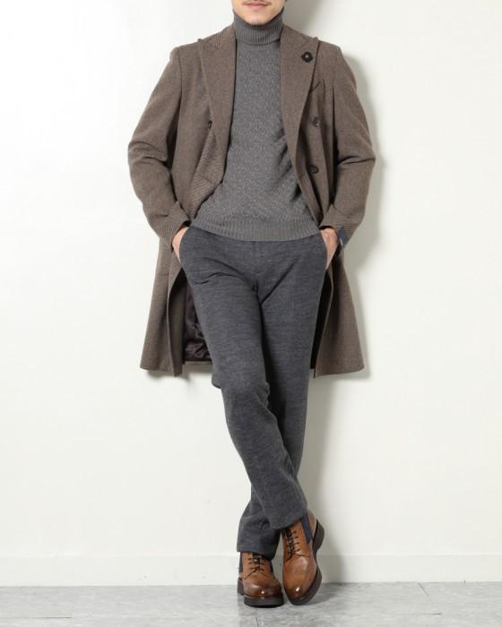 人気ファッションメンズ|DOUCAL'S(デュカルス) ウィングチップ コンビネーションレースアップブーツ