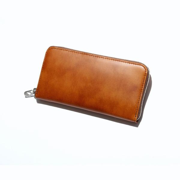 HERGOPOCHラウンドファスナー束入 【Waxed Leather/ワキシングレザー】02l