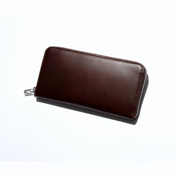 HERGOPOCHラウンドファスナー束入 【Waxed Leather/ワキシングレザー】03l