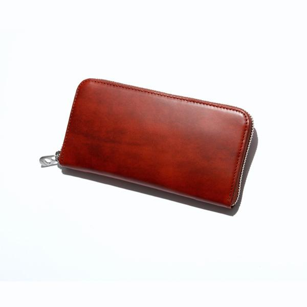HERGOPOCHラウンドファスナー束入 【Waxed Leather/ワキシングレザー】06l