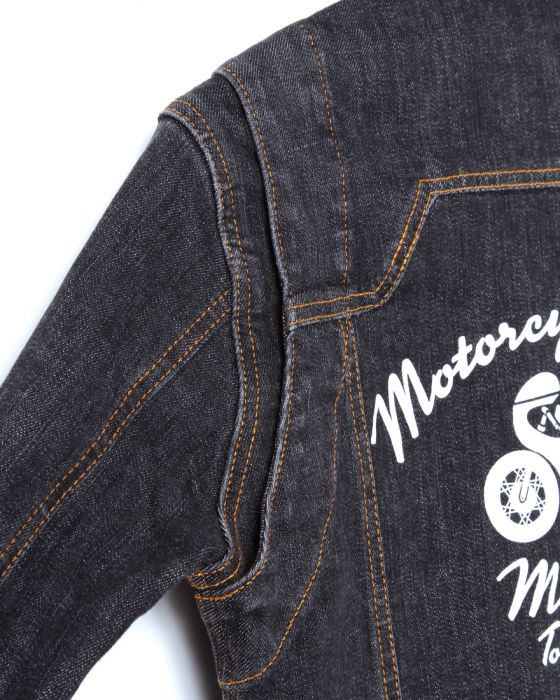 MOTO NAVIRE:boNE×MOTO NAVI コラボデニムツナギ 【RE:boNE×MOTO NAVI DENIM JUMPSUIT】15l