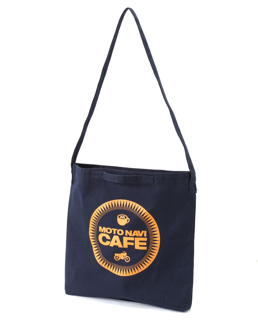 MOTO NAVIMOTO NAVI CAFE エコバッグ 【MOTO NAVI CAFE 2WAY Canvas bag】c2