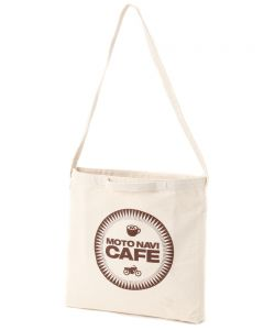 MOTO NAVI CAFE エコバッグ 【MOTO NAVI CAFE 2WAY Canvas bag】
