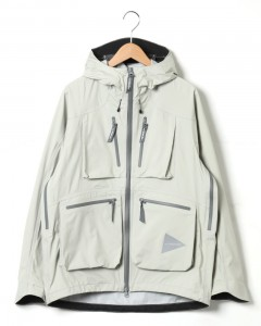 3レイヤーレインジャケット【e vent dropping pocket rain jacket】
